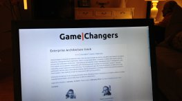 Что-то особенное: GameChangers Enterprise Architecture Track