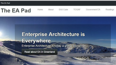 The EA Pad (Enterprise Arhitecture)